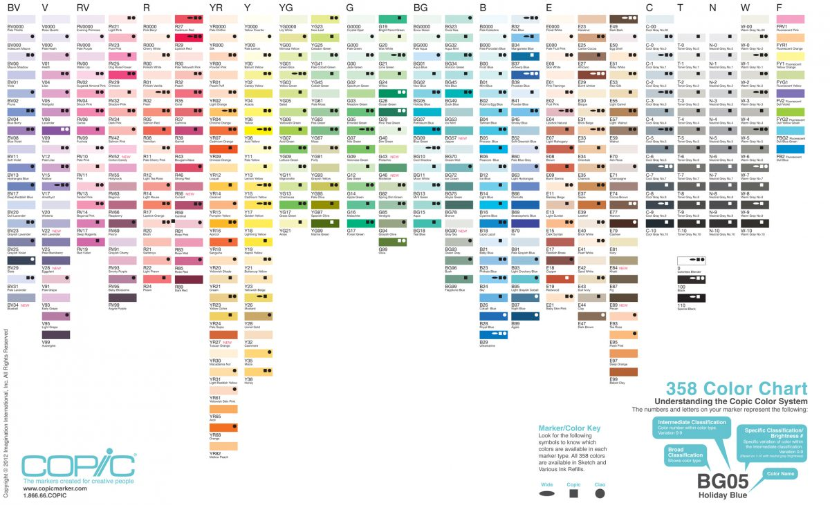 Premium resources alcohol ink art copic 358 color chart nvjuhfo Image collections