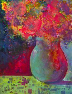 Alcohol Ink by Francine Dufour Jones