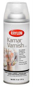 krylon kamar Varnish for Alcohol ink art