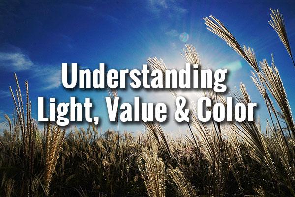 Understanding Light, Value & Color