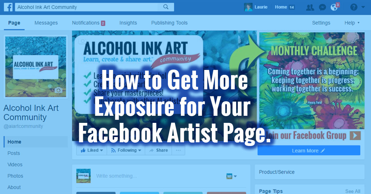 Facebook for Artists: Like, Share and Comment as Your ...