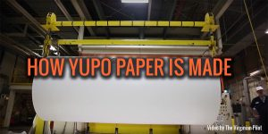 how yupo paper is made