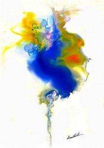 Alcohol Ink by  Alexis Bonavitacola