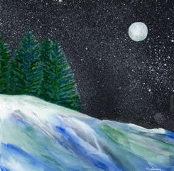 First Snow by Barbara Nahmias