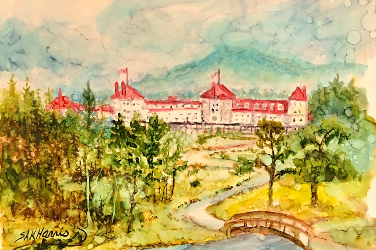 Mount Washington in New Hampshire: Plein Air Painting Lesson