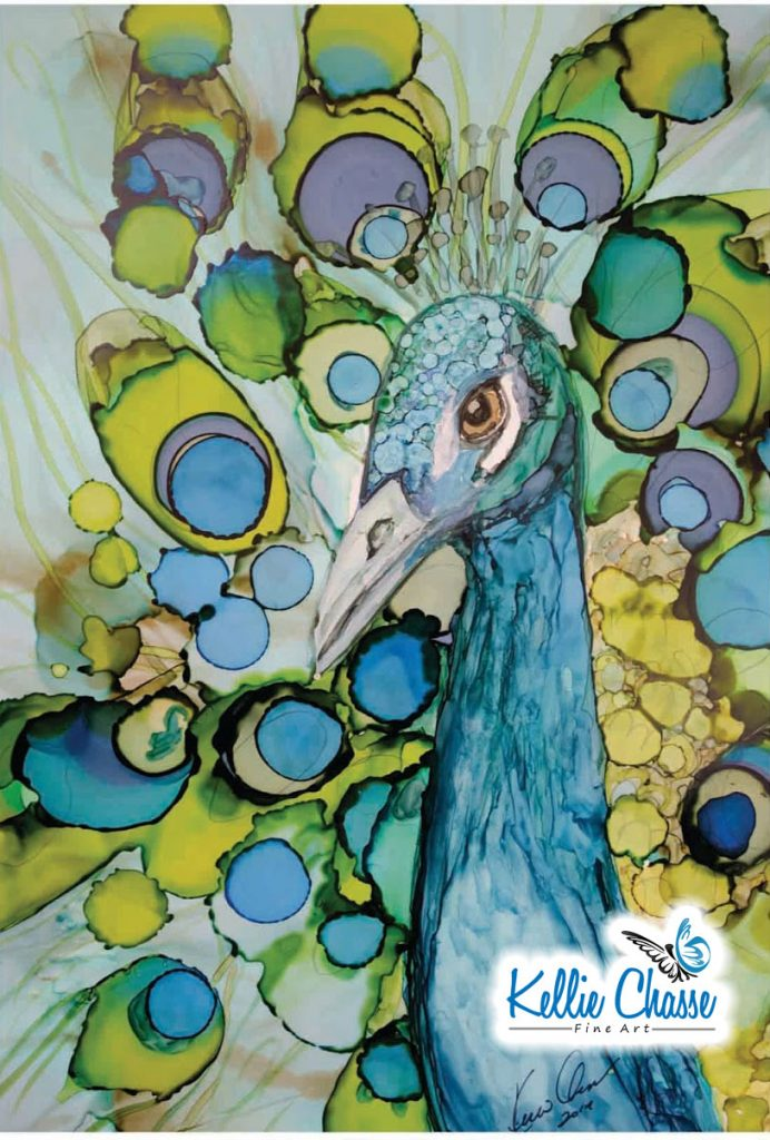 Peacock with Kellie Chasse