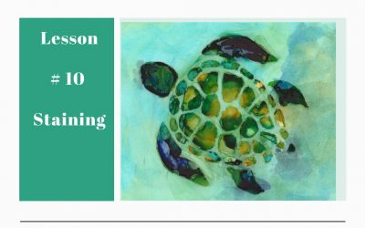 Understanding Alcohol Ink – Lesson #10 Staining