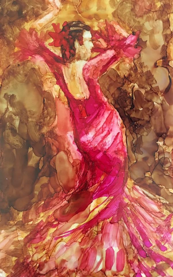 Dancing Woman by Sharen AK Harris