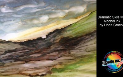 Dramatic Skies with Alcohol Ink