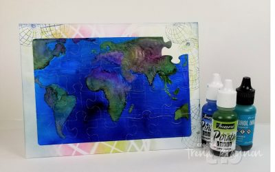 Embossing Folders, Die Cuts and Alcohol Inks