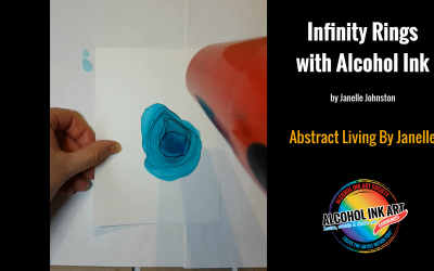 Infinity Rings with Alcohol Ink