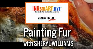 Paint Fur with Alcohol Ink
