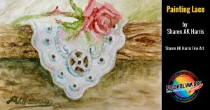 Paint with Alcohol Ink - Lace