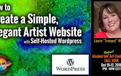 Build an Artist Website with WordPress