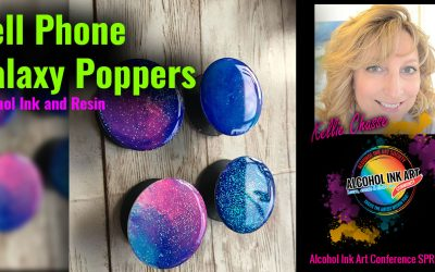 Cell Phone Galaxy Poppers