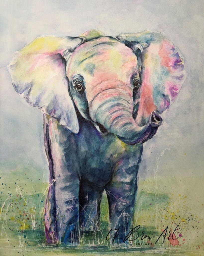 Elephant by Teresa K. Brown
