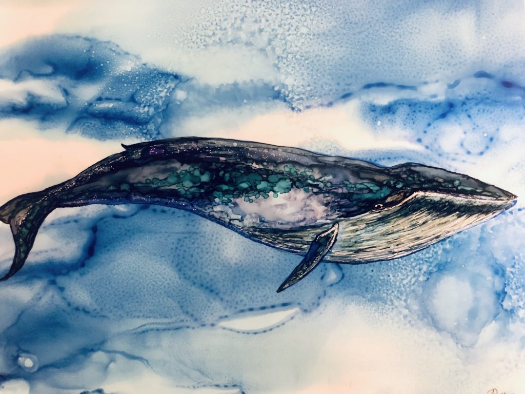 blue whale etsy