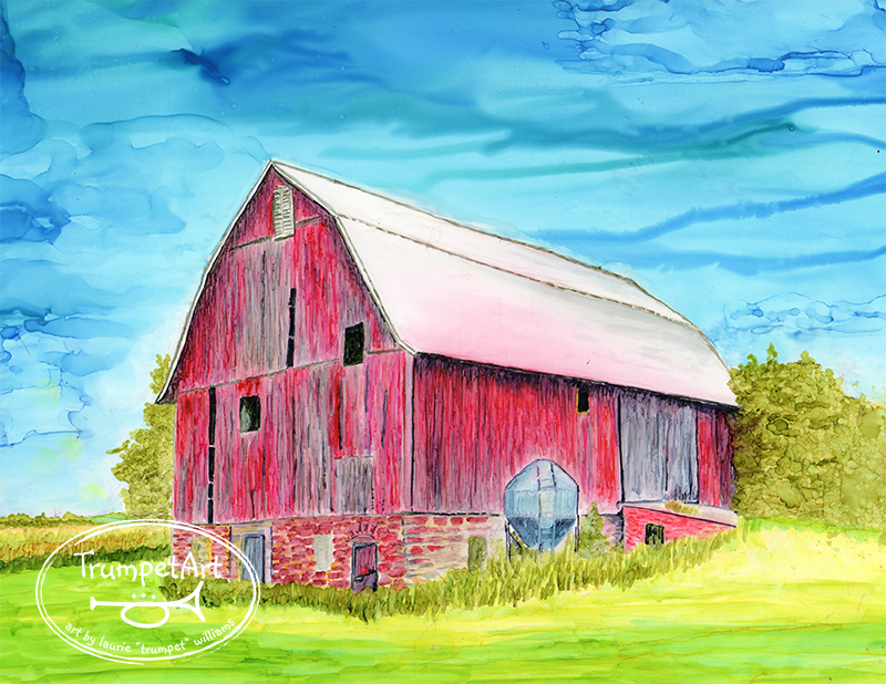 If Barns Could Speak by Laurie Trumpet Williams