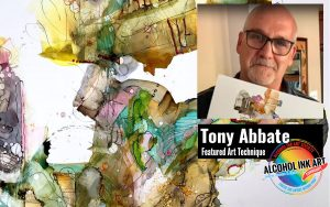 Abstract Art with Alcohol Ink Technical Demonstration