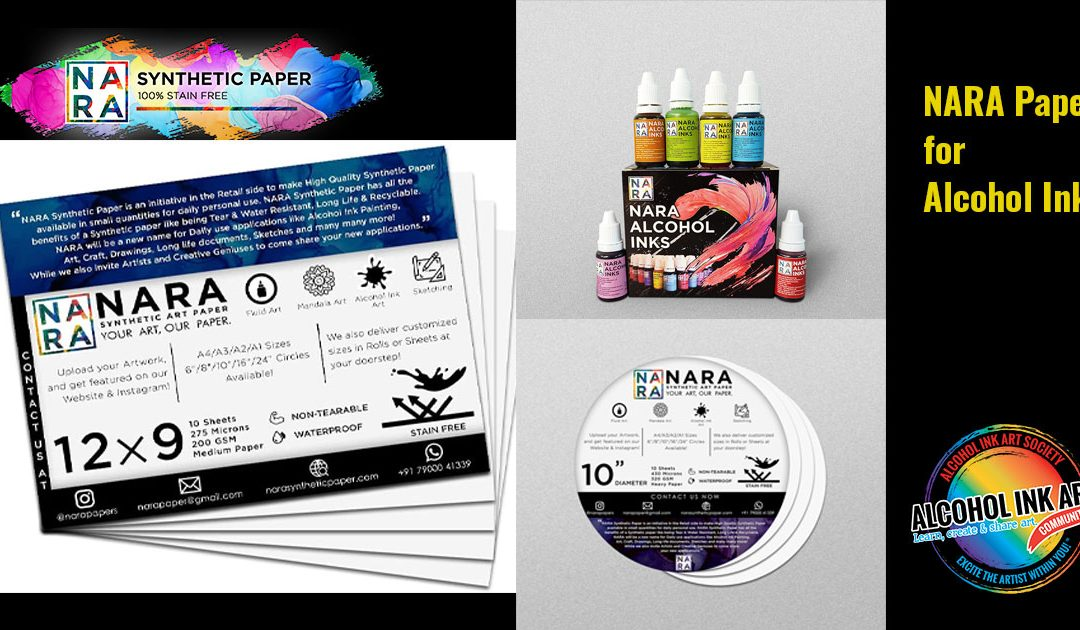NARA Paper for Alcohol Ink